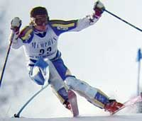 Paul Frommelt, Liechtenstein skiier during the 1970's