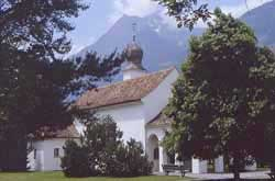 Picture of the church of St Maria Hilf in Balzers