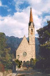 The parish church of Schaan