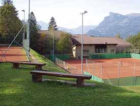 Treisen's tennis facilities